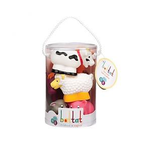 Bộ đồ chơi nhà tắm - thú nông trại BATTAT BT2603Z