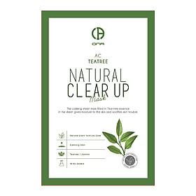 ONA Natural Clear Up Teatree Mask - 23g