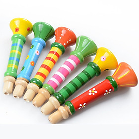 Kèn gỗ cho bé - Đồ chơi gỗ
