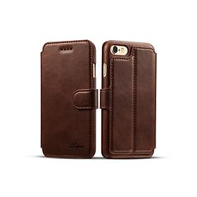 Ốp Lưng Dạng Ví Da PU Cho iPhone 6 Plus/iPhone 6S Plus