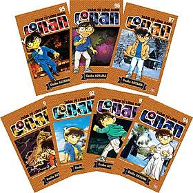 Combo Thám Tử Lừng Danh Conan Tập 91 - 97 (Combo 7 Cuốn)