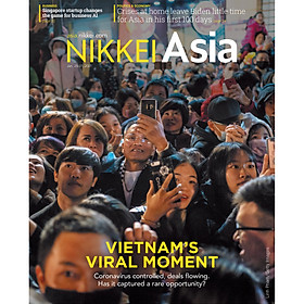Nikkei Asian Review: Nikkei Asia - 2021: VIETNAM'S VIRAL MOMENT - 4.20, tạp chí kinh tế nước ngoài, nhập khẩu từ Singapore