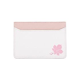 Hình đại diện sản phẩm Ví Đựng Card Da Bò Saffiano - Foliage 5 (10 x 7 cm)