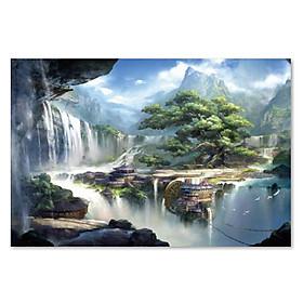Tranh ghép hình 1000 mảnh bằng gỗ - Thế giới thần tiên