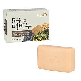 Xà bông tẩy da chết tinh chất ngũ cốc Bazzle Hàn Quốc 100g - Phù hợp mọi loại da.