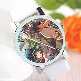 Đồng hồ đeo tay IN HÌNH Kimi No Na Wa - Your Name anime