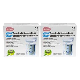 Combo 2 Hộp 30 Túi Đựng Sữa Mẹ (Trữ Sữa Mẹ) Compact Umimom UM870251 (210ml)