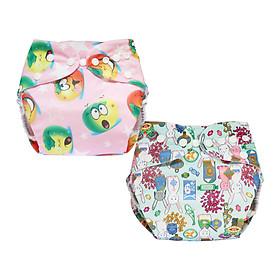 Tã vải BabyCute ban Đêm Siêu chống tràn - Mua 2 bộ tã size L (14-24kg) - Tặng 1 bỉm Cotton size 3 (15-20kg) - Giao mẫu ngẫu nhiên-2