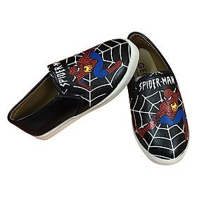 Giày Lười Người Nhện Spider Man Phong Cách Cho Bé Trai GA41 (2 - 7 Tuổi)