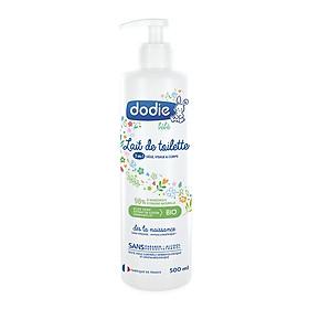 Sữa rửa vệ sinh nguyên liệu hữu cơ 3 trong 1 Dodie