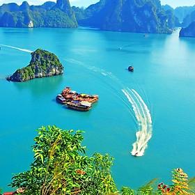 Tour 2N1Đ Hà Nội - Vịnh Hạ Long - Hang Sửng Sốt - Đảo Titop - Hạ Long Park - Biển Bãi Cháy, Khách Sạn 3 Sao, Khởi Hành Hàng Ngày
