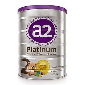 Sữa A2 Follow On Formula Stage 2 900g - Sữa bột cao cấp dành cho trẻ từ 6 tháng - 1 tuổi