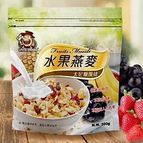 Yến mạch hoa quả ngũ cốc UncleDatou (đường thái phi) 300g