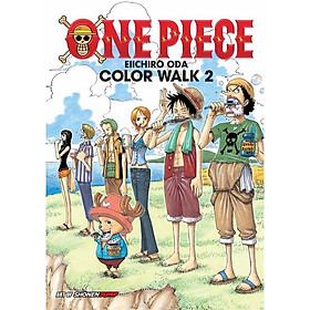 One Piece Color Walk Art Book, Vol. 2 - Tiếng Anh