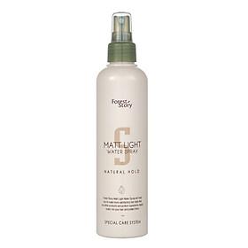 Keo xịt tạo kiểu tóc cứng vừa (Hàn Quốc) Welcos Forest Story Matt Light Water Spray 252ml