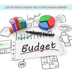 Khóa học Lập kế hoạch ngân sách cho doanh nghiệp