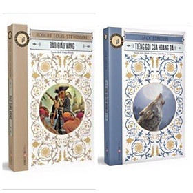 Combo 2 cuốn tác phẩm văn học kinh điển: Đảo Giấu Vàng + Tiếng Gọi Của Hoang Dã