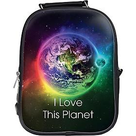 Balo In Hình I Love This Planet BLGA028