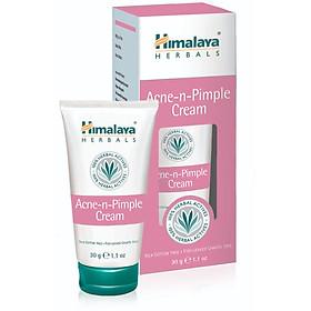Kem Loại Bỏ Mụn Trứng Cá/(Hop/Tuyp) Himalaya Acne-n-Pimple Cream 30gm