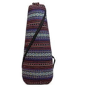 Bao Đựng Đàn Guitar/ Ukulele Đeo Lưng Vải Cotton Thổ Cẩm Dày