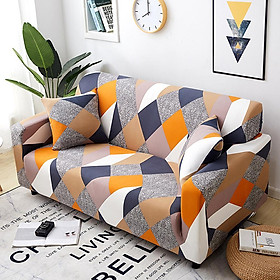 Stretch Slipcover Elastic Stretch Sofa Cover with Pillowcase for Living Room Couch Cover