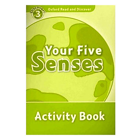 Oxford Read and Discover 3: Your Five Senses Activity Book
