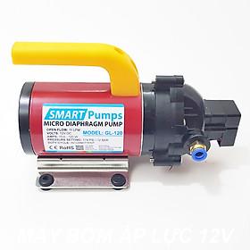 Máy bơm nước mini áp lực 12V 120W 11L Smartpumps GL-120