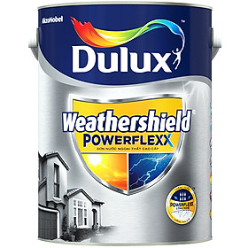 Sơn nước ngoại thất siêu cao cấp Dulux Weathershield PowerFlexx (Bề mặt mờ) Marvelous Monter