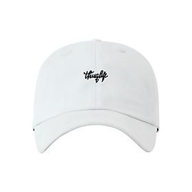 Nón Ballcap Hàn Quốc Thuglife PREMIER FL179 - Trắng