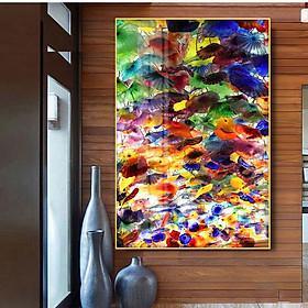 Tranh mica cao cấp Sắc màu nghệ thuật - MK031