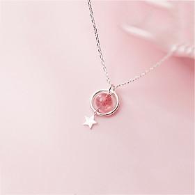 Dây chuyền | Dây Chuyền Bạc | Dây chuyền nữ bạc | Dây Chuyền Bạc Nữ S925 Hàn Quốc DB2481 Bảo Ngọc Jewelry