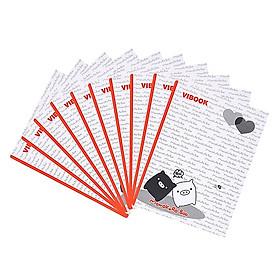 Tập sinh viện KT 175 x 252 100 trang(Lốc 10 cuốn)
