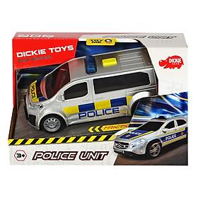 Đồ Chơi Xe Cảnh Sát Dickie Toys Police Unit - 20.2 x 13.2 x 9 cm (Giao Ngẫu Nhiên)