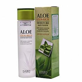 Nước hoa hồng dưỡng ẩm, trắng da Hàn Quốc Aloe Stem-Rich Skin (150ml)