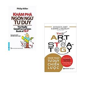 Combo 2 cuốn sách: Khám Phá Ngôn Ngữ Tư Duy + Nghệ thuật tư duy chiến lược