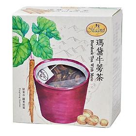 Trà ngưu bàng MAGNET mate tea - 5g*15 gói
