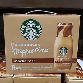 STARBUCKS Frappuccino Mocha Coffee 281ml x 6P