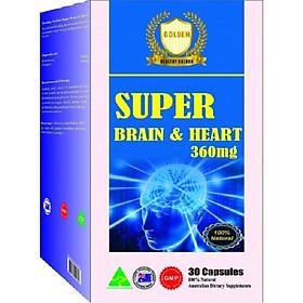 SUPER BRAIN & HEART- Tăng cường tuần hoàn máu não, đảm bảo sức khỏe tim mạch