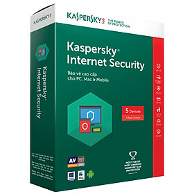 Kaspersky Internet Security - 5pc - Sản phẩm chính hãng