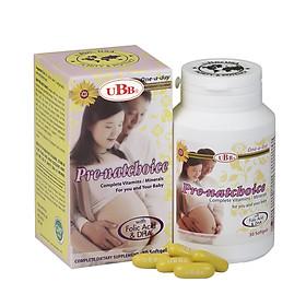 Thực Phẩm Chức Năng - UBB PRE-NATCHOICE - Bổ sung DHA, EPA và Vitamin Cho Phụ Nữ Mang Thai