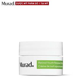 Kem dưỡng ban đêm hồi sinh làn da lão hóa Murad RETINOL YOUTH RENEWAL NIGHT CREAM 8 ml
