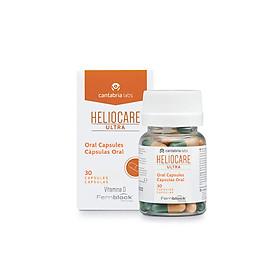 Heliocare Oral Ultra Viên uống chống nắng ngăn ngừa lão hóa và giảm đỏ da loại 30 viên