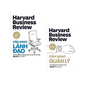 Combo Sách Kinh Doanh Harvard Business Review: Cẩm Nang Lãnh Đạo + Cẩm Nang Quản Lý
