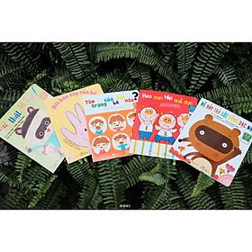 Combo 5 Cuốn Sách Ehon Nhật Bản Phát Triển Vận Động, Kỹ Năng Sống Cho Bé Từ 0-3 Tuổi