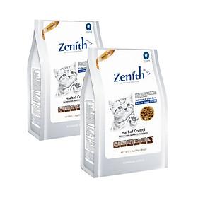 Hình đại diện sản phẩm Combo 2 túi thức ăn hạt mềm cho mèo Zenith Hairball (1.2kg x 2 túi)