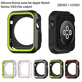 For Apple Watch iWatch Series 1 2 3 Silicone Protector Cover Case Screen 38&42mm