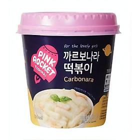 Bánh gạo Topokki Rocket Pink vị Pho mai