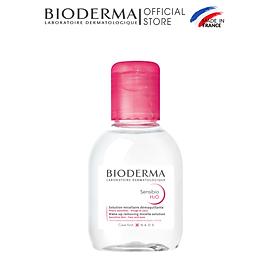Dung Dịch Làm Sạch Và Tẩy Trang Công Nghệ Micella Bioderma Sensibio H2O