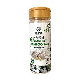 Muối tre tỏi The GL – gia  vị tự nhiên tốt cho sức khỏe, hỗ trợ tăng sức đề kháng, cung cấp khoáng chất, cân bằng pH, nêm nếm thực phẩm như thịt, cá, súp hoặc salad