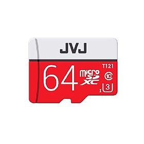 Thẻ nhớ JVJ Micro SDHC Pro 64G C10 chuyên dụng cho camera - Hàng chính hãng